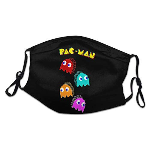 Kids Pac-Man Face Mask for Virus Protection