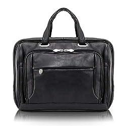 McKlein USA West Loop Leather 17 Laptop Case