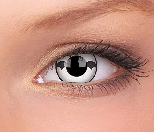 Halloween Kontaktlinse Lustige Linsen Poltergeist Jährliche Einwegartikel 14 mm stärke 0.00 von ColourVUE