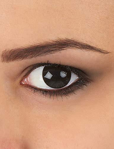KULTFAKTOR GmbH Kontaktlinsen schwarz komplett Einheitsgröße
