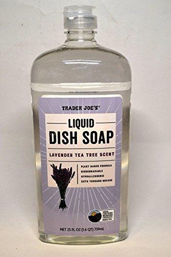 Trader Joe's - LIQUID DISH SOAP LAVENDER TEA TREE SCENT - 25 FL OZ
