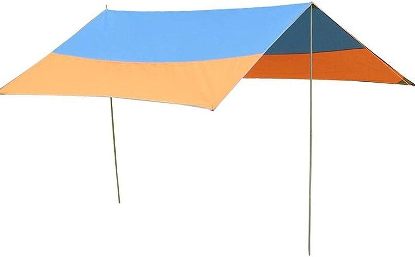 XGHW Bache de Camping bache de Camping abri bache Anti UV légère Mouche de Pluie imperméable Tapis de Sol for hamac Tente Pique-Nique