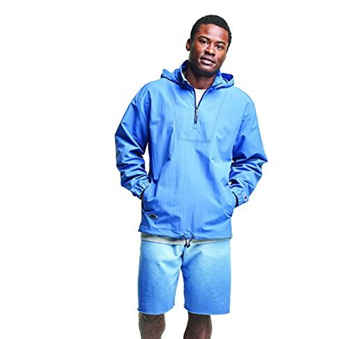 Champion Take A Hike Wind Jacket Chaqueta comprimible, Azul escudo, XXL para Hombre