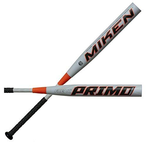 Miken 2020 Freak PRIMO Maxload ASA Slowpitch Softball Bat, 14 inch Barrel Length, 28 oz