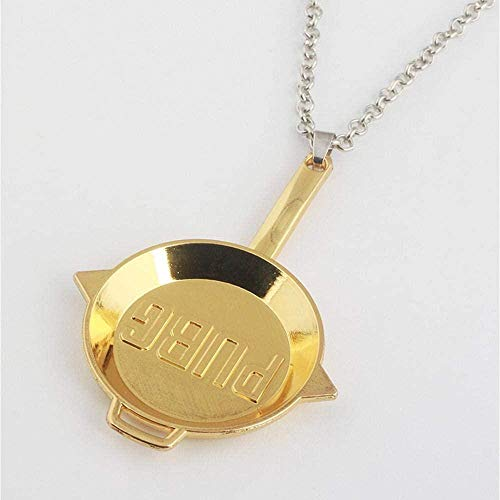NC56 Classic Design Retro Men s Women s Easy to Match Simple Personality Saucepan Pendant Necklace