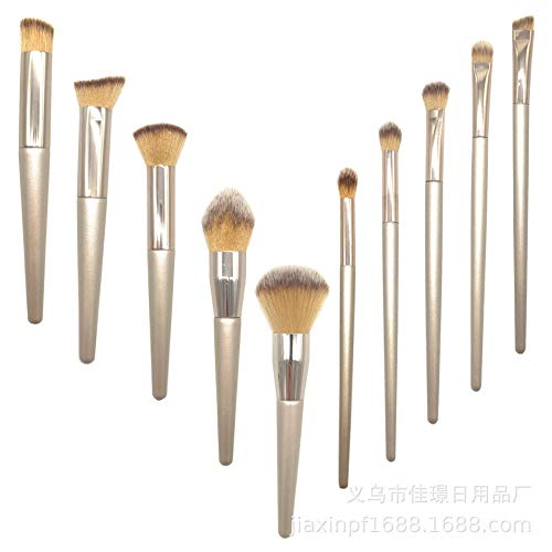 Make Up Brushes Makeup Brush, Brush Bag - Amazon Supply Single / 10 Makeup Brush Beauty Makeup Brush Champagne Gold Eye Shadow Brush Set