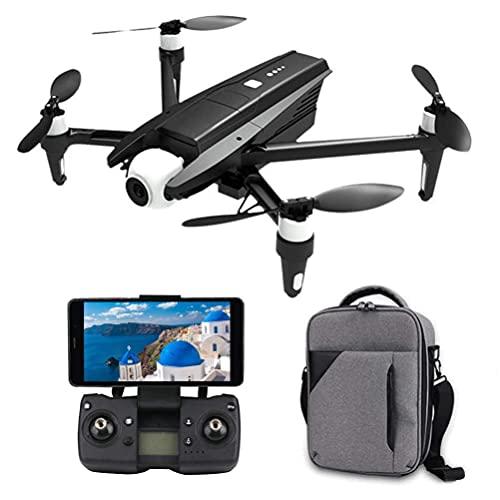DCLINA Drone Rc Pieghevole per Adulti, Drone GPS Professionale con Fotocamera FPV 6K, Trasmissione Immagini in Tempo Reale HD 5G, Gimbal autostabilizzante a 2 Assi, Distanza del Telecomando 1200 m