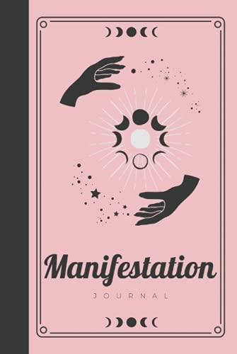 Manifestation Journal: Rose Gold Pink Hardcover & Hardback 33 Days Or 45 Days 369 Project Manifestat
