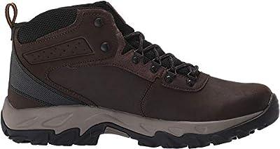Columbia Men's Newton Ridge Plus II Waterproof Hiking Boot, Cordovan, Squash, 7.5 Regular US