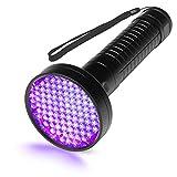 Escolite UV Flashlight Black Light, 100 LED 395 nM Ultraviolet Flashlights UV blacklight Detector for Dog Urine, Pet Stains and Bed Bug, Matching with Pet Odor Eliminator …