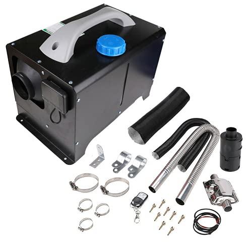 SHZICMY Calefactor de aire diésel de aparcamiento, 12 V y 8 kW, calefactor de aire para coche, caravana, camión, autocaravana