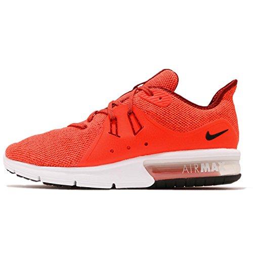 Nike Men's Air Max Sequent 3 Running Shoe (10, Team RED/Black-Total Crimson-VAST Grey)