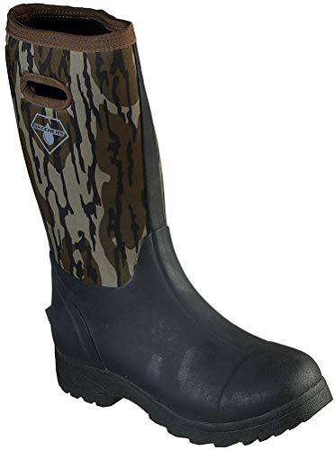 Skechers trabajo de los hombres: Weirton WP botas impermeables, negro (Camuflaje), 43 EU