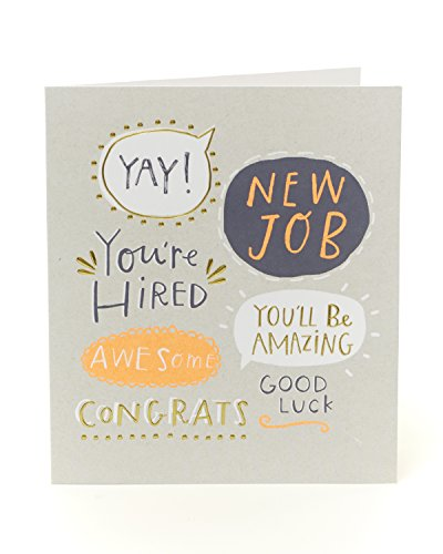 Congratulations New Job Card – You' Re Hired.