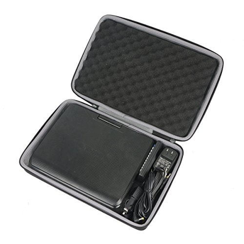 co2crea Hard Case for UEME / HDJUNTUNKOR 10.1 Portable DVD Player CD Player
