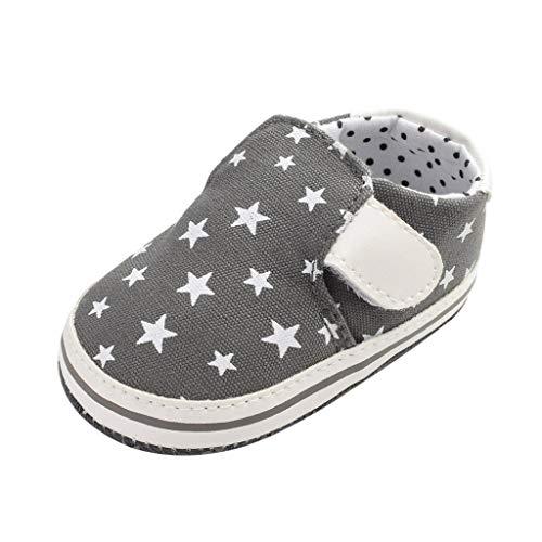 Snakell Babyschuhe Weicher Leder Krabbelschuhe Baby Schuhe, Stars Canvas Strap Kleinkind,Babyschuhe mit Lauflernschuhe Kleinkind Baby Kinder Junge Schuhe Rutschsicheren
