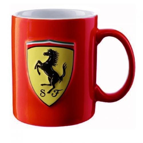 Ferrari Mug Becher Tasse rot Scuderia SF Logo