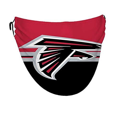 Wodann Atlanta Falcons (7) Cubierta bucal A prueba de viento A prueba de polvo Cubierta protectora de pasamontañas para hombres y mujeres