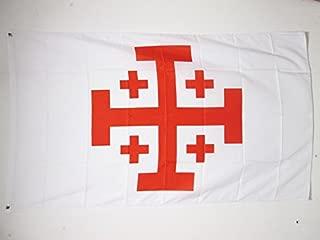 AZ FLAG Order of The Holy Sepulchre of Jerusalem Flag 3' x 5' - Catholic Flags 90 x 150 cm - Banner 3x5 ft