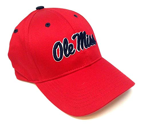 Solide Rouge Ole Miss Rebels Chapeau