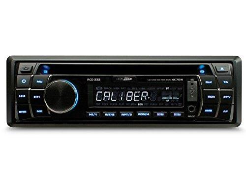 Caliber RCD232 Autoradio, 300 W, Schwarz, SD, 300 W, 75 W