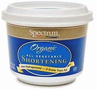 Spectrum Naturals Organic Palm Shortening, 33 Pounds - 1 per case.