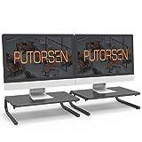 PUTORSEN® Soporte de Monitor pc de Premium - Elevador de Monitor 4' de Altura para Laptop,...