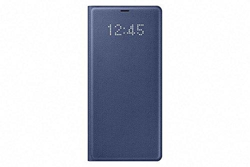 Samsung EF-NN950PNEGWW Schutzhülle für Galaxy Note 8, LED View, deep blau