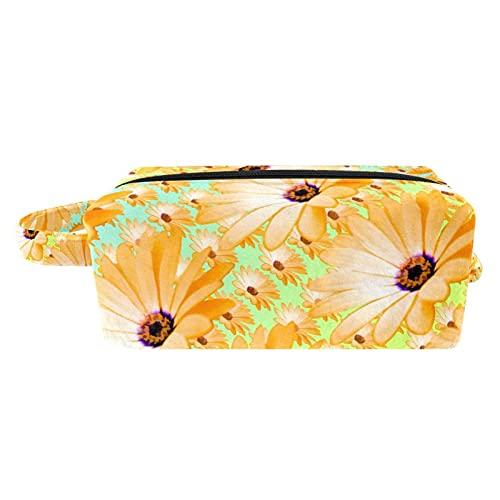 Bolsa de aseo de viaje para colgar cosméticos para mujeres y niñas, impermeable, pintado a mano, caballos corriendo