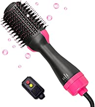 Hair Dryer Brush 4 in 1, Blow Dryer Brush Set with Ceramic Coating and Negative Ions, to Women's Straight, Curly, Blow-Drying, and Combing Hair of Volumizer Hot Hair Tools