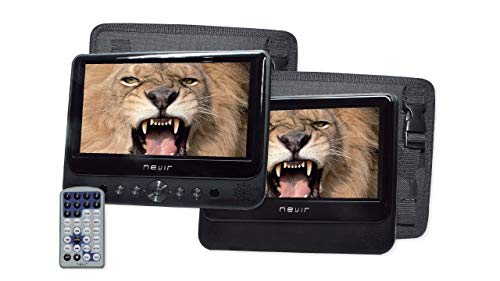 DVD Portátil NEVIR NVR2777DVD 2 Pantallas
