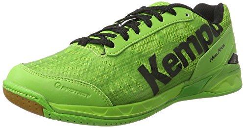 Kempa Attack Two, Zapatillas de Balonmano Hombre, Verde (Verde 05), 45 EU