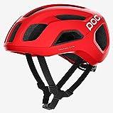 casco poc ciclismo rojo
