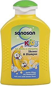 Sanosan Shower Gel and Shampoo for Kids - Banana