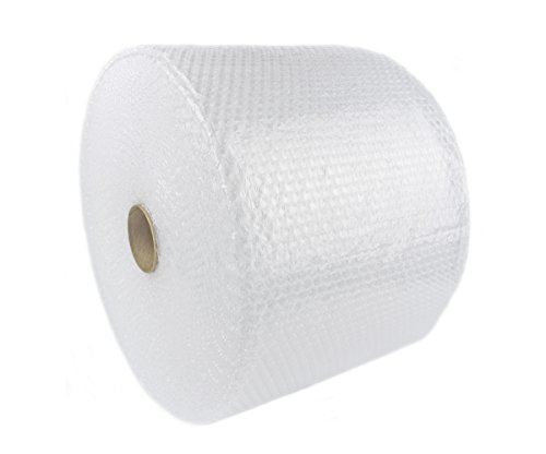 """LQ Packaging Shop 1400' x 12"""" Small Bubble Cushioning Wrap 3/16, Perforated Every 12"""""""