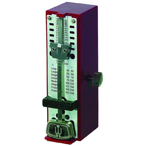 Wittner 903012 Metronomo Super Mini Cassa Sintetico Colore Rosso Rubino