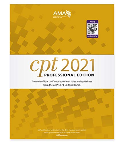 CPT 2021 Professional Edition (CPT / Current Procedural
