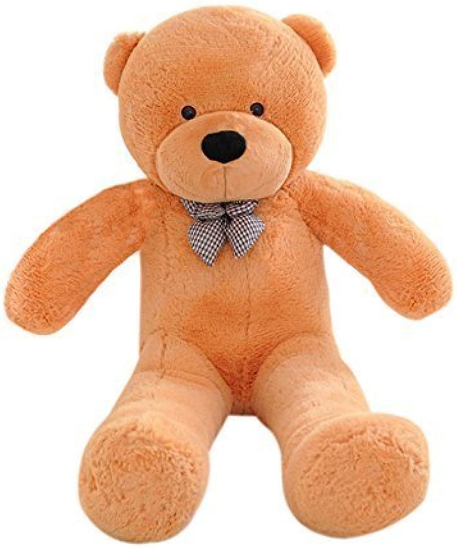 A-cool Huge Teddy Bear Cuddly Stuffed Plush Animals Teddy Bear Toy Doll , 23.62'' (60CM) ,Light brown