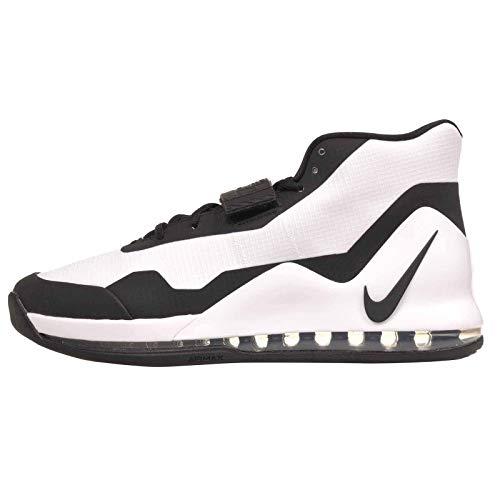 Nike Air Force Max Ar0974-101 masculino, White/Black, 13