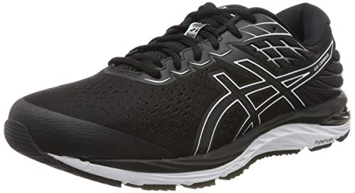 ASICS Herren Gel-cumulus 21 Running Shoe, Black/White, 45 EU