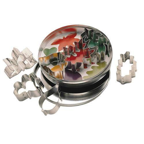 Kitchen Craft Lot de 7 emporte-pièces avec boîte en métal