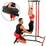 Pull-Up Bars Portable Power Tower Home Sport Equipment Free-Standing Dip Station Outdoor Indoor Sports