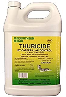 Shouthern Ag Thuricide HPC For Control of Caterpillars & Worms, 1 Gallon - 128oz