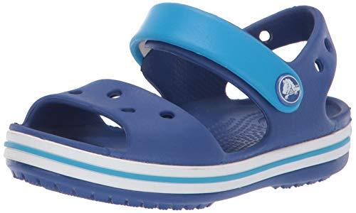 Crocs Crocband Sandal Kids, Sandali con Cinturino alla Caviglia Unisex – Bambini, Blu (Cerulean Blue/Ocean), 23/24 EU