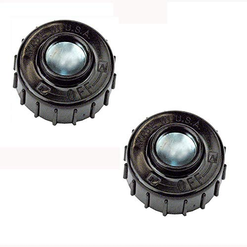 (2) Fits John Deere String Trimmer Replacement Bump Head Knobs Replaces UP04273