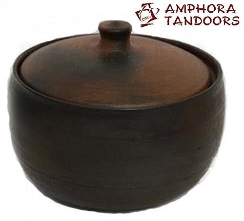 Amphora Tandoor oven Keramik Schmortopf 2 l mit Deckel Tandoor Тандыр Tandoori Tandir Tanur Tandyr Tandur Grill Feinschmecker Ofen BBQ Barbecue Mangal