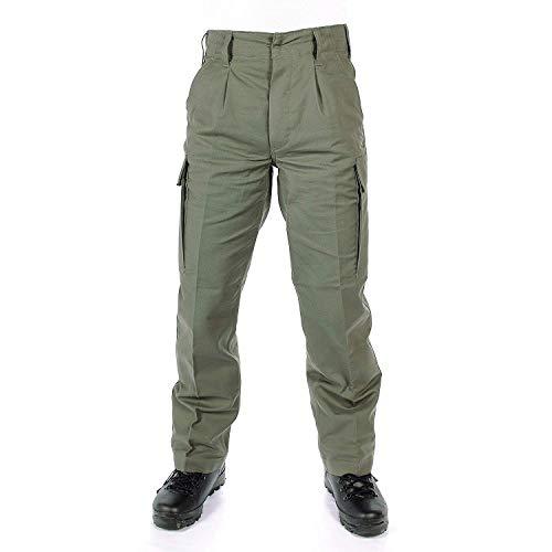 Leo Koehler, pantaloni militari originali , Uomo, Beige, BW 27 / 60