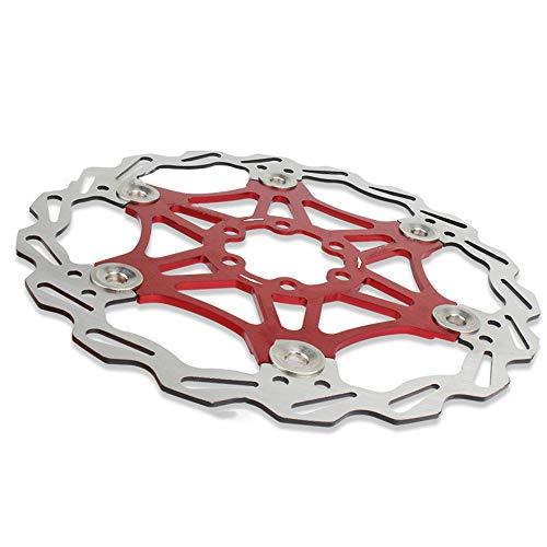 Disco Freno Per Mountain Bike, Staffa In Lega Di Alluminio Rotore Freno A Disco Per Bicicletta 160/180 / 203mm Rotore Design Cavo - Resistente E Duraturo (160mm)