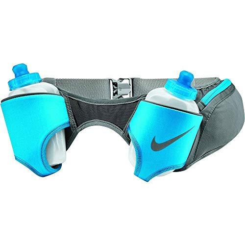 Nike Double Flask Belt 20OZ OSFM DUST/LT Blue Fury/Silver