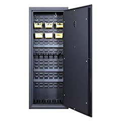 ULTRALIGHT GUN SAFE – Don't let a traditional gun safe slow you down. The Agile 52 is strong and durable, yet lightweight so you can relocate around the house, or when you move. KEY OVERRIDE - A keypad control panel with the addition of a hidden key ...